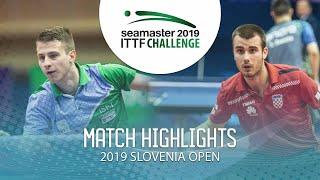 【動画】デニ・コズル VS コラレック 2019 ITTFチャレンジ・スロベニアオープン ベスト64