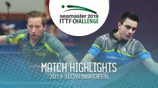 【動画】DEVOS Robin VS ステファン・ウォシュ 2019 ITTFチャレンジ・スロベニアオープン ベスト64