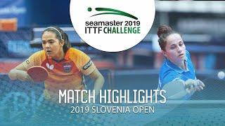 【動画】アドリアーナ・ディアス VS CIOBANU Irina 2019 ITTFチャレンジ・スロベニアオープン ベスト32