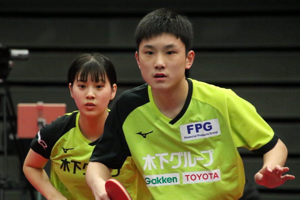 神巧也/松平健太は2回戦で散る 森薗/伊藤と張本/長﨑は順当に8強入り 2020全日本2日目 卓球