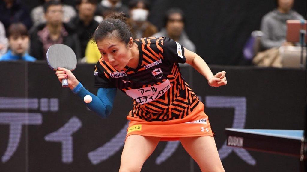 TOP名古屋は五輪銀メダリストのカットマン、ハン・インと契約更新 2020-2021卓球Tリーグ