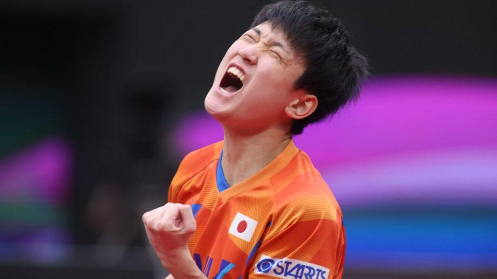 張本智和は銅メダル 日本男子初の2大会連続メダル 樊振東が史上初の3連覇達成 最終日結果 男子ワールドカップ 卓球