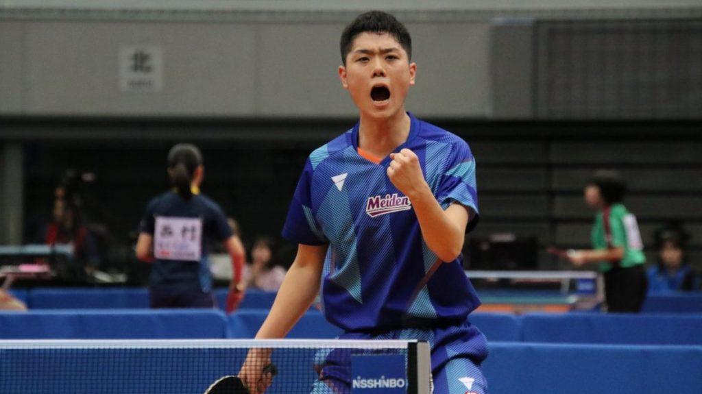 2019世界ジュニア日本代表、愛工大名電3年の曽根翔が彩たま入り 黄鎮廷は登録抹消 卓球 Tリーグ