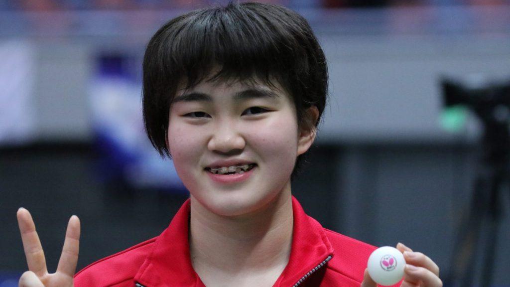 男子は濱田一輝が初V、女子は大藤沙月が2連覇達成 ジュニア男女 2021全日本卓球