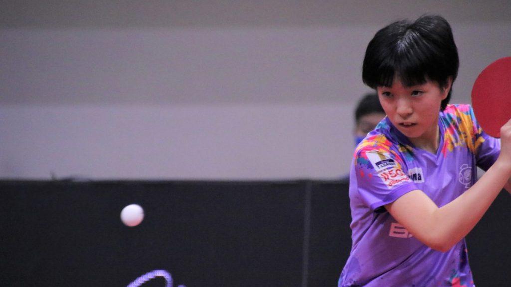 世界ジュニア銀、若手のホープ小塩遥菜が日本ペイントマレッツと契約更新 4thシーズン卓球Tリーグ