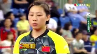 【動画】リー・ジエ VS WEN Jia 2016年韓国オープン 準々決勝