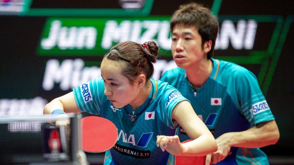 東京五輪 混合ダブルス出場16ペアが発表 水谷隼/伊藤美誠が金メダルを狙うITTF 卓球