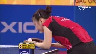 【動画】福原愛 VS 伊藤美誠 2015年韓国オープン 決勝