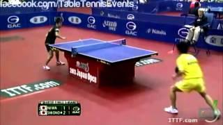 【動画】丹羽孝希 VS 塩野真人 2013年ジャパンオープン、スーパーシリーズ 準々決勝