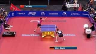 【動画】ティモ・ボル VS 陳杞 GAC GROUP 2011年世界卓球選手権大会 準々決勝
