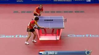 【動画】リー・ジャオ VS 劉詩文 クオロス2015年世界卓球選手権 ベスト32