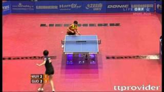 【動画】郭躍 VS 武楊 LIEBHERR 2010年オーストリアオープン -  ITTFプロツアー 決勝
