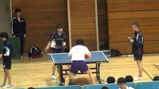 【動画あり】ペン粒高 特集(2)駒澤大学・小島選手