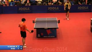 【動画】タオ・ウェンジャン VS 上田仁 2014年全米オープン'14 決勝