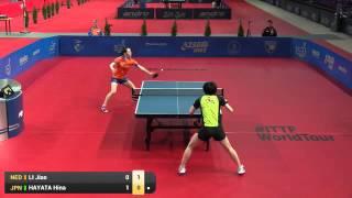 【動画】早田ひな VS リー・ジャオ 2016年ポーランドオープン ベスト16