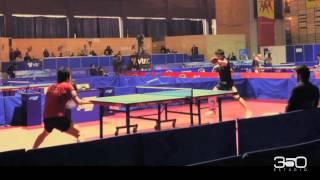 【動画】水谷隼 VS 張一博 GAC GROUP 2012 チリオープン 準々決勝