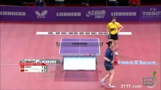 【動画】朱雨玲 VS 姜華君 LIEBHERR 2013年世界卓球選手権 ベスト16