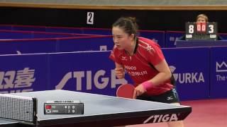 【動画】フー・メレック VS 田志希 2016年スウェーデン・オープン 準々決勝