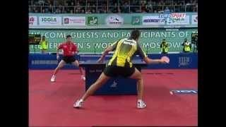 【動画】陳杞 VS ブラディミル・サムソノフ LIEBHERR 2009男子ワールドカップ 決勝