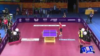 【動画】村松雄斗 VS 陳衛星 クオロス2015年世界卓球選手権 ベスト64