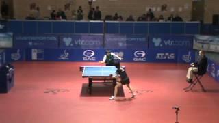 【動画】GUI Lin VS 石川 佳純 GAC GROUP 2012 チリオープン 準決勝