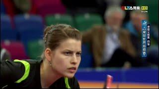 【動画】ペトリッサ・ゾルヤ VS GU Ruochen 2015年ドイツオープン 準決勝