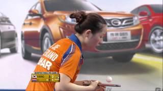 【動画】梁夏銀 VS リー・ジエ 2014年韓国オープン 準々決勝