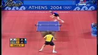 【動画】ヤン=オベ・ワルドナー VS 柳承敏 2004年オリンピック 準決勝