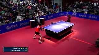 【動画】リー・ジエ VS ZHENG Jiaqi 2014年韓国オープン