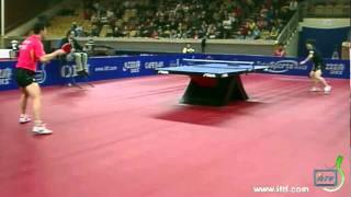【動画】岸川聖也 VS 馬龍 2011年スウェーデン・オープン -  ITTFプロツアー 準決勝