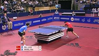 【動画】王皓 VS 馬龍 2010年ドイツオープン -  ITTFプロツアー 決勝