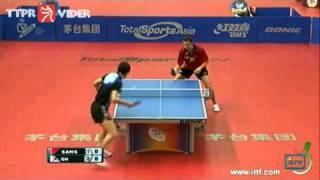 【動画】呉尚垠 VS ブラディミル・サムソノフ 2011年スペインオープン -  ITTFプロツアー 決勝