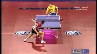 【動画】ブラディミル・サムソノフ VS ヤン=オベ・ワルドナー 2005年世界卓球選手権大会 ベスト32