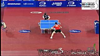 【動画】許昕 VS 張一博 GAC GROUP 2012 KRA韓国オープン 準決勝