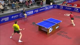 【動画】王皓 VS MENGEL Steffen 2014年ドイツオープン ベスト16
