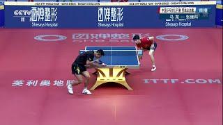 【動画】張継科 VS 馬龍 2016年SheSays中国オープン 準決勝