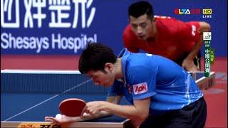 【動画】張継科 VS 何鈞傑 2016年SheSays中国オープン 準々決勝