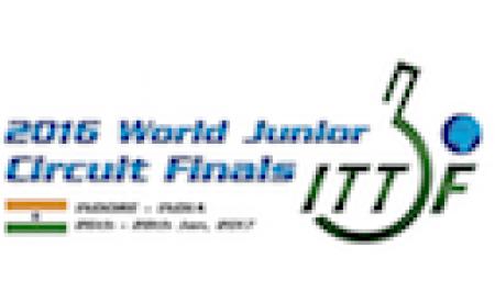 加藤準優勝、金光は3位 ワールドジュニアサーキットファイナル 卓球