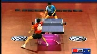 【動画】王励勤 VS 呉尚垠 2005年世界卓球選手権大会 準決勝