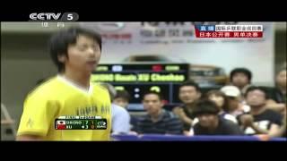 【動画】塩野真人 VS XU Chenhao 2013年ジャパンオープン、スーパーシリーズ 決勝