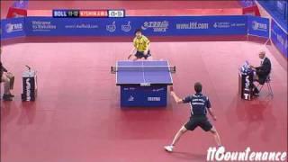【動画】ティモ・ボル VS 岸川聖也 2009英語オープン 準々決勝