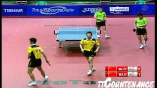 【動画】王励勤・許昕 VS 馬琳・張継科 2011年UAEオープン -  ITTFプロツアー 決勝