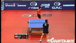 【動画】張一博 VS 郝帥 2013年オーストリアオープン、メジャーシリーズ 準々決勝
