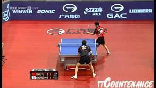 【動画】荘智淵 VS ZHOU Yu 2013年オーストリアオープン、メジャーシリーズ 準々決勝