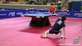 【動画】水谷隼 VS 王皓 2011年スウェーデン・オープン -  ITTFプロツアー 準々決勝