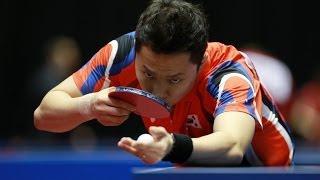 【動画】ステファン・ウォシュ VS CHO Eonrae 2014年韓国オープン ベスト64