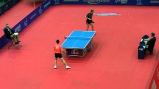 【動画】馬龍 VS BAUM Patrick 2011年オーストリアオープン -  ITTFプロツアー ベスト16