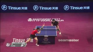 【動画】馬龍 VS 荘智淵 2017シーマスター2017年プラチナ、カタールオープン 準決勝