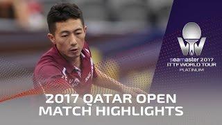 【動画】馬龍 VS 李平 2017シーマスター2017年プラチナ、カタールオープン ベスト16