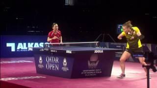 【動画】シャン・シャオナ VS PARTYKA Natalia 2017シーマスター2017年プラチナ、カタールオープン 準々決勝